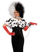 Dalmatiner Kostüm-Set 3-teilig weiss-schwarz