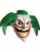 Ausgefallene Joker™-Maske Superschurken-Maske weiss-grün