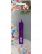 Schminkstift für Halloween lila 2,3g