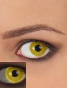 UV Kontaktlinsen gelb