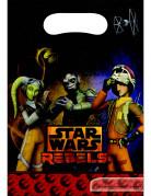 Star Wars Rebels™ Partytaschen 6 Stück bunt