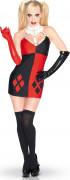 Suicide Squad™ Sexy Harley Quinn™ Damenkostüm Lizenzware schwarz-rot