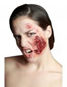 Kunstwunde Infizierte Hautstelle beige-rot