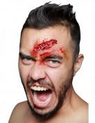 Kratzwunde-Latexapplikation Halloween-Wundenapplikation hautfarbe-rot