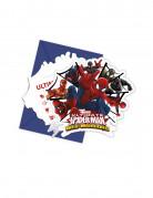 Spider-Man™ Einladungen 6 Stück bunt 11 x 12,5 cm