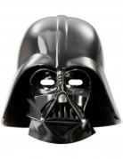 Darth Vader™-Flachmasken 6 Stück schwarz 25x20cm