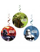 Star Wars™ Hängedekorationen 3 Stück bunt