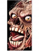Zombie-Türposter Türdeko schwarz