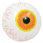 Aufblasbares Auge Halloween-Deko bunt 41cm
