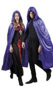 Cape im Samt-Look Halloween Kostümaccessoire 170 cm lang