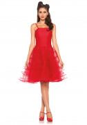 50er Rockabilly Petticoat Kleid Damenkostüm