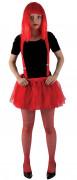 Roter Halloween Unterrock rot
