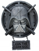 Darth Vader-Wanddeko Join the dark side Star Wars™-Deko grau 60x42cm