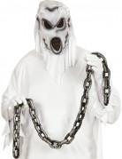 Sträflingskette Halloween Kostümzubehör silber 150 cm