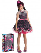Monster High Draculaura Halloween Kinderkostüm schwarz-lila