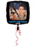 Aluminium-Ballon Star Wars VII™ Geburtstags-Deko schwarz-bunt