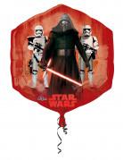 Kylo Ren Alu-Luftballon Star Wars™ sechseckig Deko rot-blau