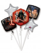 Star Wars™-Ballonstrauß aus Aluminium 5 Stück bunt