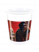 Star Wars VII™ Plastikbecher-Set 8 Stück bunt 9cm