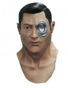T-1000 Halloween-Maske Terminator Genisys™ Lizenzartikel hautfarbe-silber