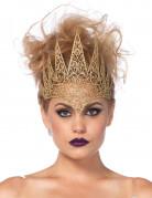 Böse Königin Krone Halloween Kostüm-Accessoire gold