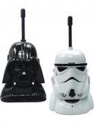 Walkie Talkie-Set Star Wars™ Lizenzartikel Sprechtelefon 2-teilig schwarz-weiss