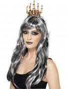 Halloween Haarreif Skelett Hand für Erwachsene