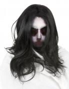 Geister Maske mit Perücke für Erwachsene - Halloween