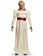 Annabelle Horrorpuppe Halloween-Damenkostüm weiss-rot