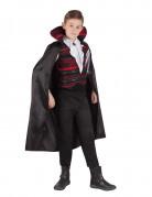 Eleganter Vampir Kinderkostüm Dracula schwarz-rot