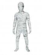 Mumie Kinder Morphsuit Halloween weiss-grau-rot