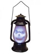 Leuchtende Halloween-Laterne mit Klangeffekt 30 cm