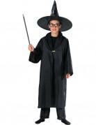 Kinderumhang für Zauberer schwarz
