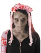Blutverschmierter Brautschleier Halloween Kostüm-Accessoire rosa-rot