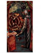 Türdekoration Halloween-Clown Halloween Raumdekoration mehrfarbig 85 x 165 cm