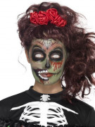 Dia de los Muertos Zombie Schmink-Set Halloween Make-up bunt