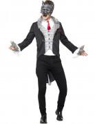 Werwolf Halloween Herrenkostüm grau