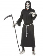Sensenmann Halloween-Kostüm Gevatter Tod schwarz