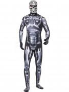 T2 Endoskelett Terminator Kostüm silber-schwarz