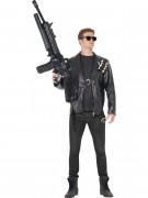 T2 Terminator Kostüm schwarz