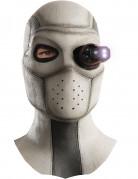 Deadshot-Maske mit Licht Suicide Squad™ Halloween-Maske grau