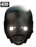 K-2SO™-Pappmaske Star Wars™-Lizenzartikel schwarz