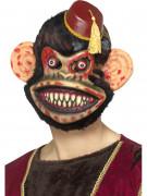 Affen-Zombiemaske für Halloween bunt