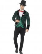 Vampirkostüm für Herren grün-schwarz