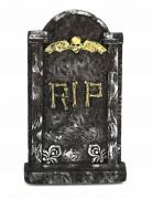 RIP Grabstein Halloween-Deko grau-beige 63x35cm