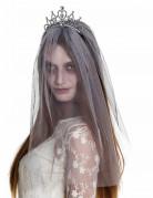 Geisterbraut Schleier Halloween Kostüm-Accessoire silber