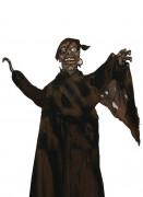 Piratenzombie im Lumpenkleid Halloween-Hängedeko schwarz-braun 120cm