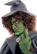 Hexen-Nase mit Hautkleber haut