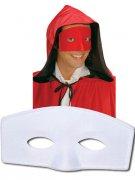 Augenmaske Kostüm-Zubehör weiß