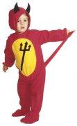 Süsser Teufel Kinderkostüm rot-gelb
